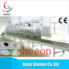 Stainless steel conveyor belt dryer for tea/Manufacture of microwave drying machine for potato chips
