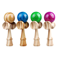 Eco Friendly Bamboo Kendama Toys For