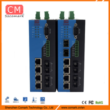 multi port managed serial to ethernet switch dual power supply