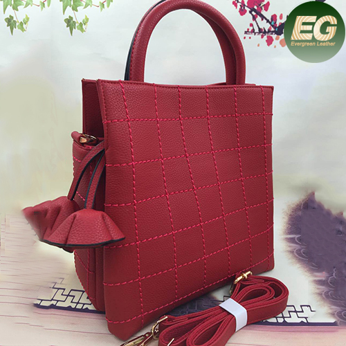 Hot sale products ladies handbag designer tote shoulder bags with flowers accessories SY8041