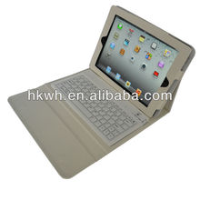 2013 hot selling bluetooth keyboard case for ipad