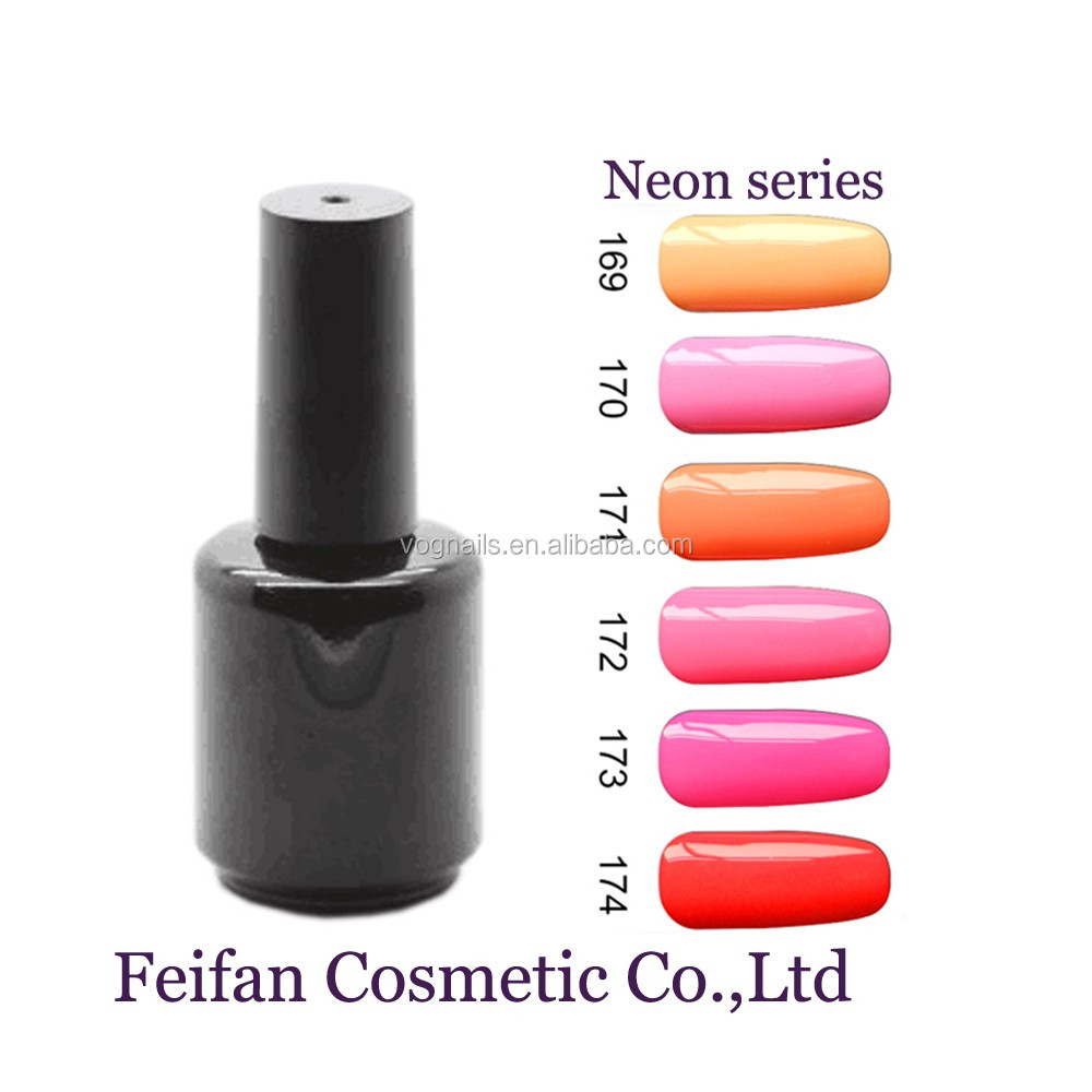Fei Fan 2017 OEM Brand Neon Color Series Gel Polish With Free Samples For Wholesale Supplies