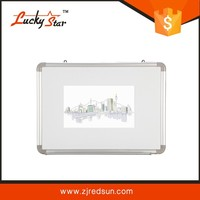 2015 Zhe Jiang Red Sun lucky star wall hang dry erase magnetic board Foldable whiteboard
