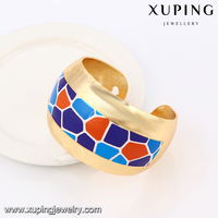51471- 2016 Xuping Summery Indian Style Gold jewelry Colorful Bangle For Sale