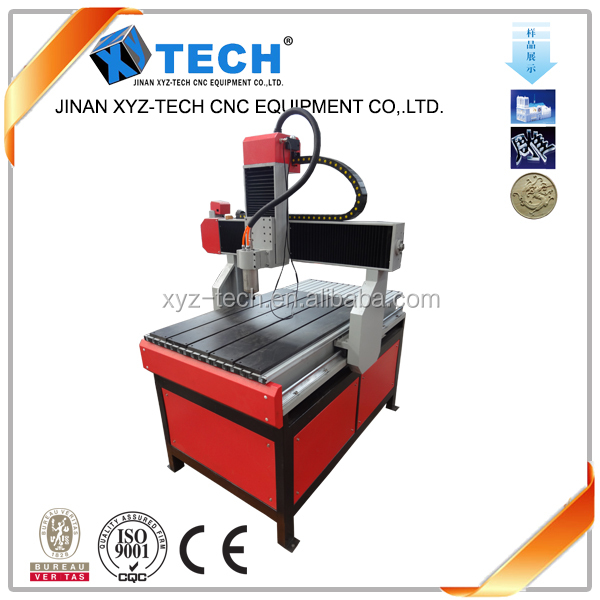 mini cnc wood engraver/3d cnc router XJ-6090 made in China