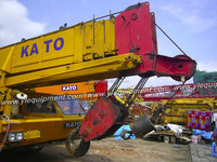 KATO NK800 80 ton used wheel crane lifting truck crane