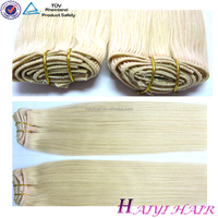 Very Thick Double Drawn Brazilian Wholesale Unprocessed Remy Good Feedback 613 Blonde Hair Weave