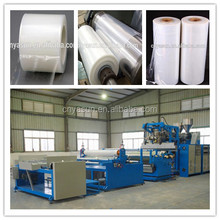 PE Stretch Film Extruder Making Machine For Packing Food Cast Film Production Line