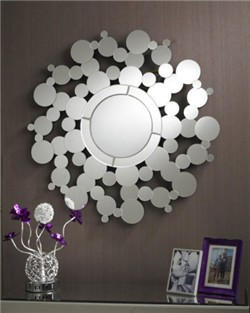 gilding round home decor wall mirror