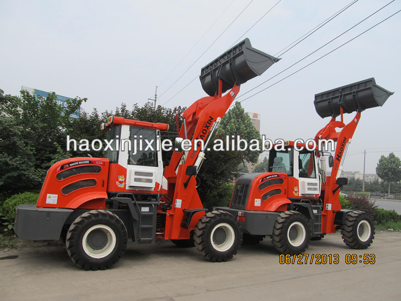 2 ton mini wheel loader with best configuration