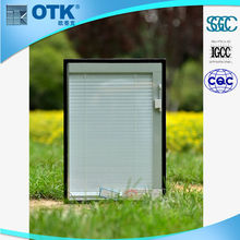 Top quality horizontal roller bathroom shutter door with the double glass