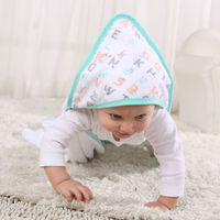 LAT hooded baby towel microfibre drying cloth and wet towel