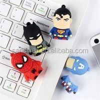 2014 new product wholesale ironman usb flash drive free samples made in china