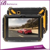 Chinese Cheapest 8inch rugged MTK8382 Quad core 1G+16G 1280*720 HD 3G GSM GPS Wifi IP67 PTT NFC Tablet PC