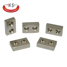 China Manufacturer NdFeB Rectangular Magnet N48