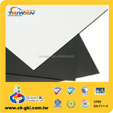 Wholesale flat thin flexible rubber 3m adhesive magnet sheets 0.5mm magnetic paper