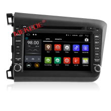 Built-in GPS car dvd player special for Ho nda c ivic with android 7.1 version radio control car