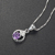 Girl Charm Fancy Design Sterling Pendant Real Silver 925 Necklace