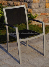 Aluminum chair with sling seat and back UNT-862-C