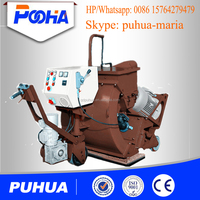 floor/road movable shot blasting machine concrete cleaning machine