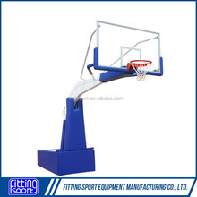 Sports Facilities Spring Assisted Height Adjustable Portable basketball stand for competition