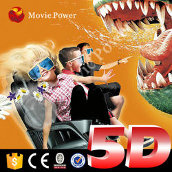 Safe and reliable 5d cinema vending