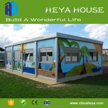 Factory price prefab modern container house prefabricated modular homes supplier