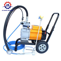High efficiency airless putty sprayer suitable for latex paint with factory price