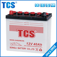 12v dry cell car battery 12v 40ah vrla battery price 50B24R electric car battery