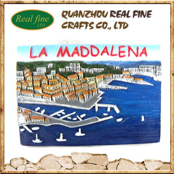 custom high quality italy la maddalena hand made souvenir hanging board