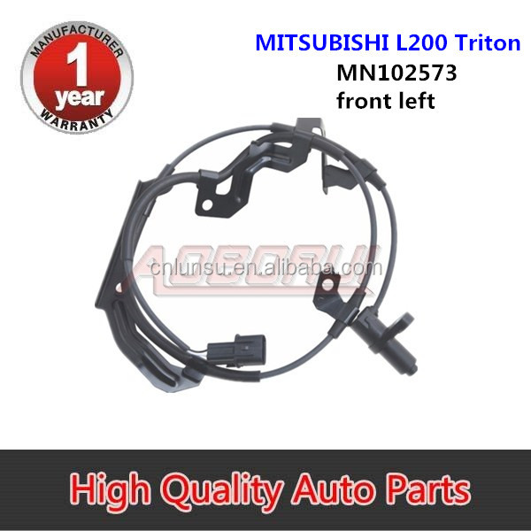 ABS Wheel Speed Sensor <strong>Front</strong> Left MN102573 For Mitsubishi <strong>L200</strong> Triton