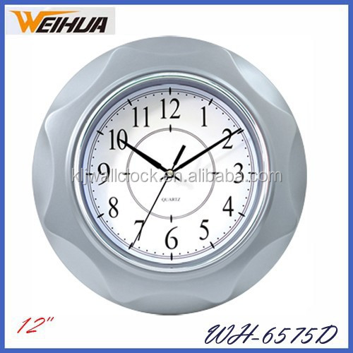 clear acrylic clock for kitchen decor