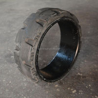 rubber cushion tire, resilient solid tyre 250x85-190 for milling machine