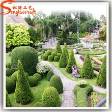 Chinese Latest Design Landscaping Artificial Topiary Tree Animal Topiary Artificial Grass