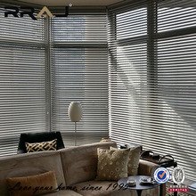 Slat style and roller type aluminum window blinds