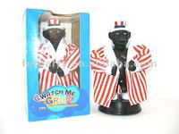 HC12756 New funny Watch me grow Black man Sound activated Small toys
