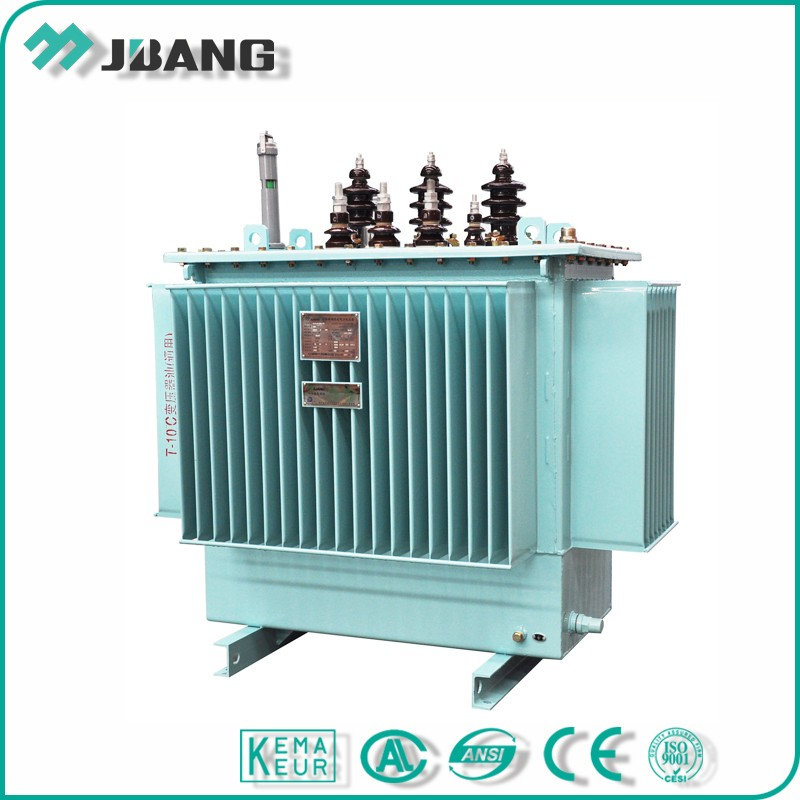 Ground mounted 13.8KV 630 kva 3 phase oil immersed power transformer
