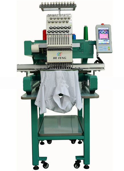 Embroidery Machine Single head Computerized for cap & t-shirt