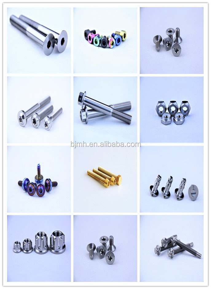 Customized gr2 8mm titanium nail for smoking