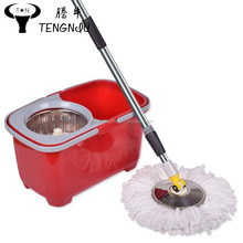 Spin mop magic carpet cleaning roller