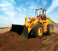 Construction/Coal Machine 5Ton Wheel loader With Low Price&High Quality