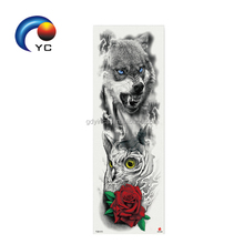 Waterproof Large Temporary Tattoos Stickers Fake Paste Leg Arm Tattoo Sticker Sleeve On The Body Art For Men Women