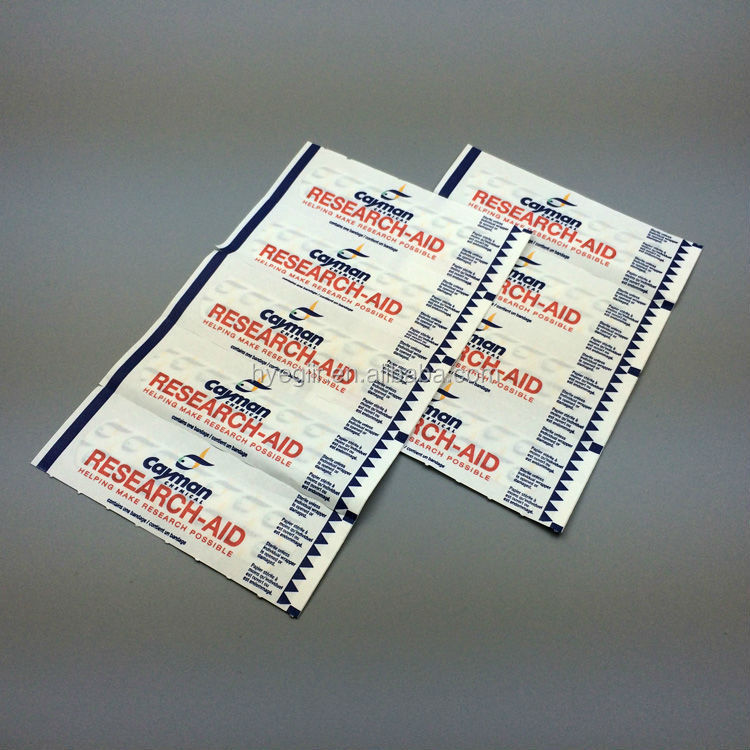 Promotional Gift Adhesive Bandage with Quality Printing and ISO, CE and FDA Certificates
