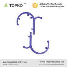 TOPKO Massage Therapy Tools Long handles Lower Back and Neck Massager