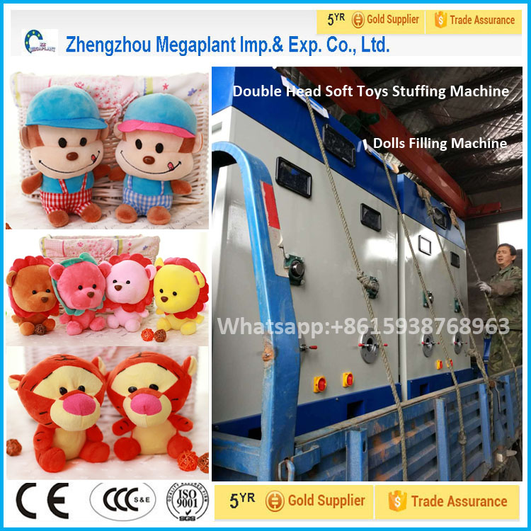 Automatic Portable Teddy Bear Stuffing Machine/Filling Machine/Stuffer Filler