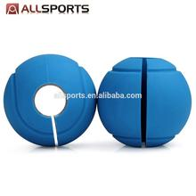 Weight Lifting Silicone Globe Grip Barbell Ball Hand Grips Home Gym Fitness a pair