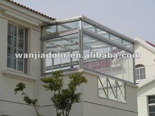 Aluminum sunroom windows