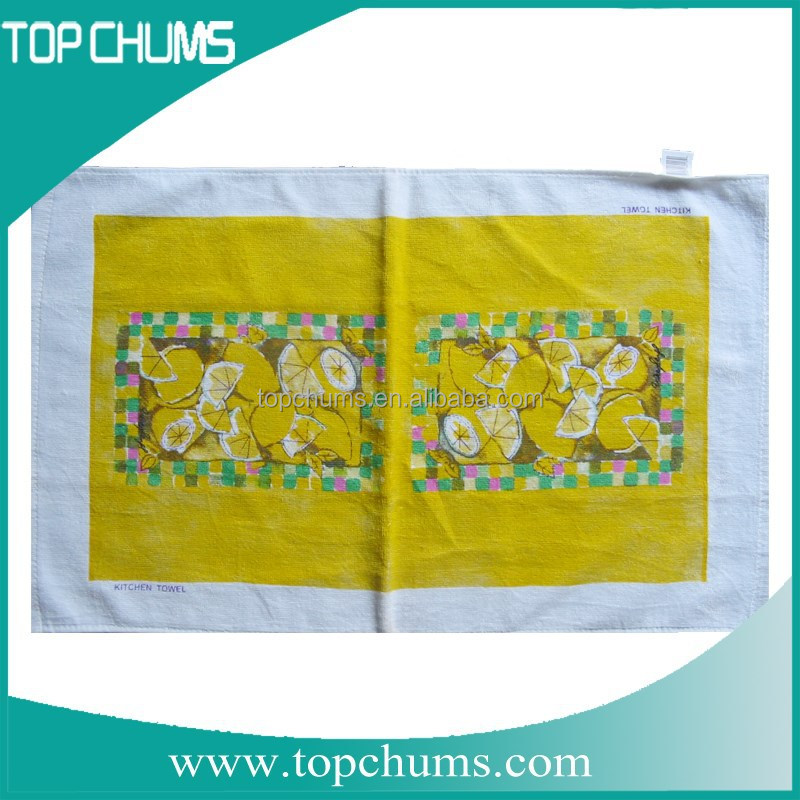 Alibaba China Printed wholesalers cheap price sewing seasonal kitchen towels