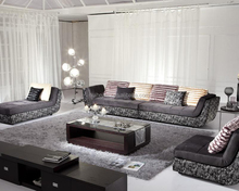 Custom Wholesale Extra Long Fabric Sectional Sofa,Modern Fabric Sofa Set Designs