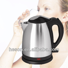 K03 stainless steel electric whistling teapot with press cover button